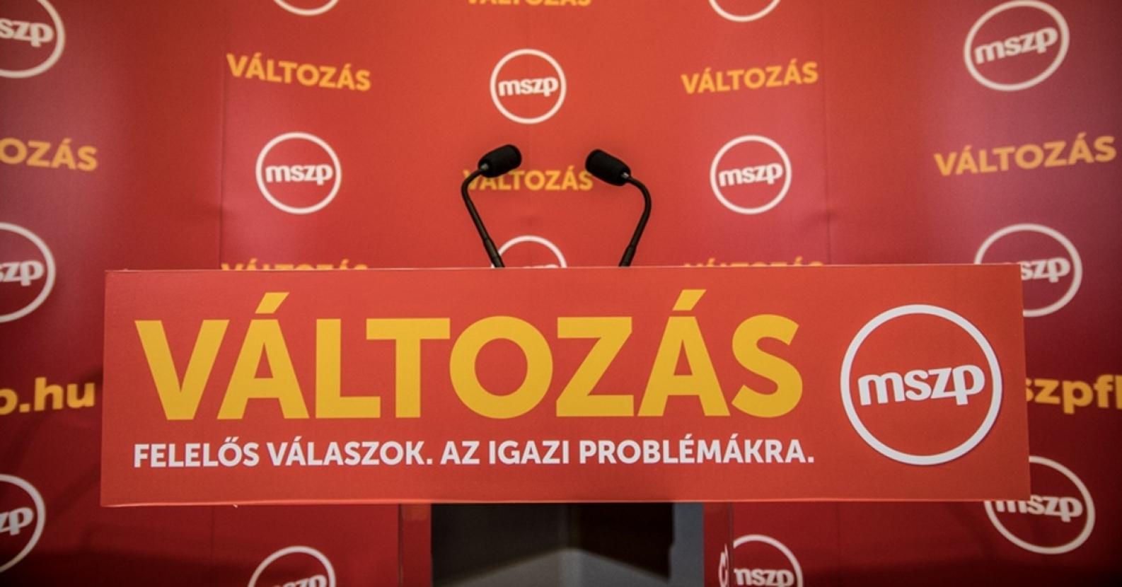 Az MSZP Baloldali Tömörülés Platformja kiáll Botka programja mellett