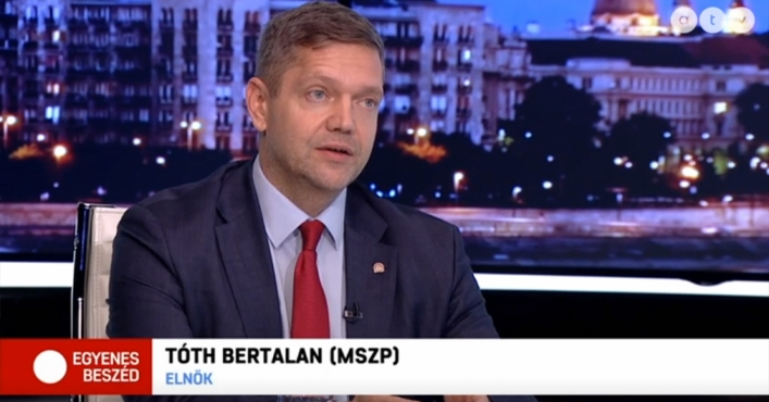 Bertalan Tóth: Opposition Unity Can Succeed in Parliamentary Elections after Local Elections