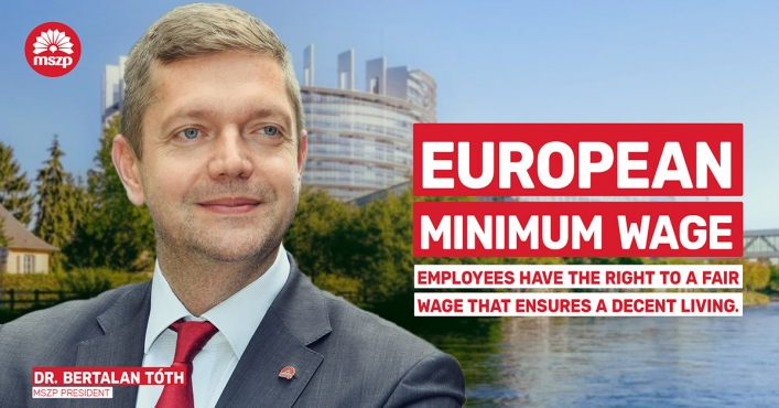 MSZP Starts Dialogue on European Minimum Wage
